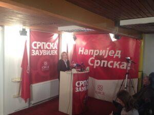 Цвијановић: Опозицију хвата паника