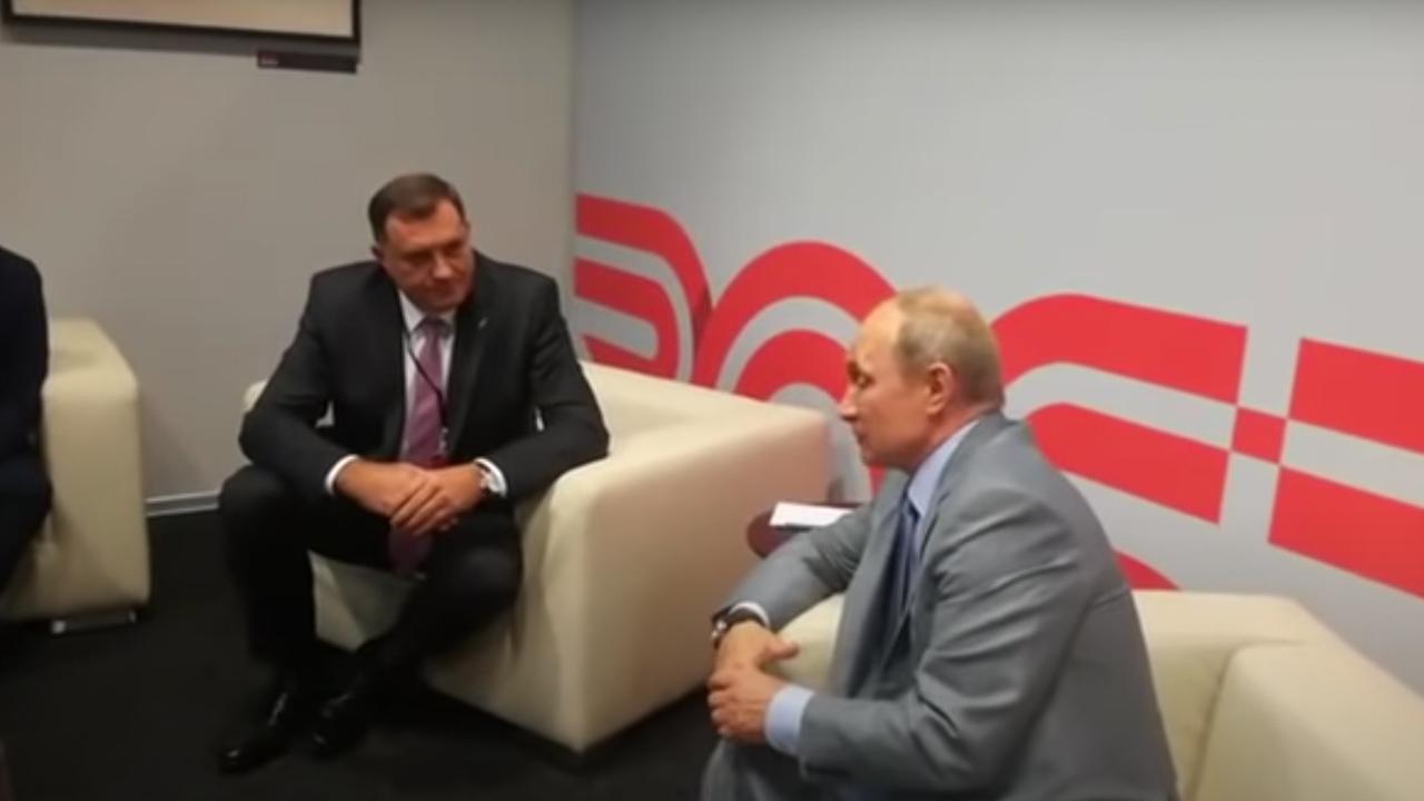 Састанак: Додик-Путин