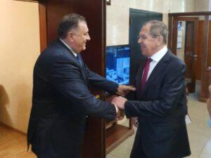 Лавров пожелио Додику брз опоравак – Русија спремна да пружи сваку врсту помоћи