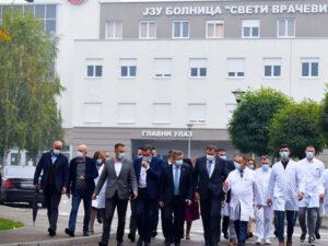 Отворена ковид болница у Бијељини (ФОТО)