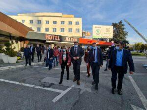 Додик у Брчком: Очекујем одличне изборне резултате