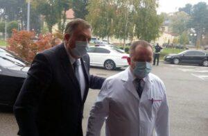 Додик на отварању нове ковид болнице у Бијељини