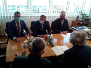 Додик се састао са начелником општине Фоча