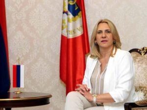 Цвијановић: Важно јачање пријатељских веза са Црном Гором