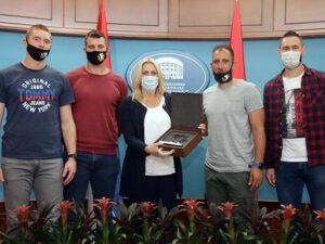 Предсједница Српске угостила чланове баскет репрезентације Србије