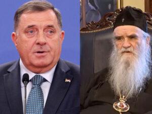 Додик сутра присуствује сахрани митрополита Амфилохија