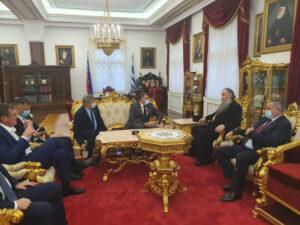 Додик: Сусрет са владиком Фотијем је велико задовољство