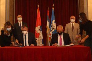 Градоначелници Бањалуке и Београда потписали Повељу о братимљењу