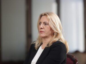 Цвијановић упутила телеграм саучешћа поводом смрти Паровићеве