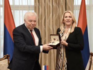 Захвалност Иванцову за досљедну одбрану ставова Српске