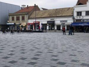 Реконструисан Трг у Бијељини (ФОТО)