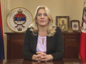 Предсједница Српске о јучерашњем протесту