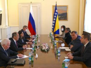 Састанак Додика и Сергеја Лаврова