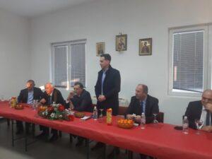 Додик са представницима заједничке српске листе за Мостар