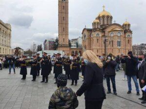 Предсједница Српске са грађанима на Дан Републике