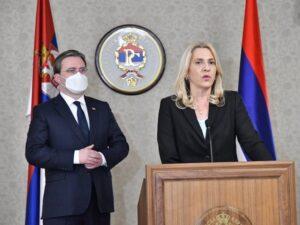 Цвијановић: За даље јачање сарадње Српске и Србије