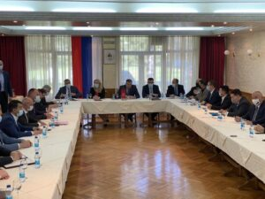 Састанак лидера владајуће коалиције на Мраковици
