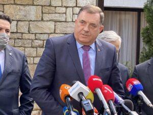 Додик: Српска не жели рат, позивамо на разговор
