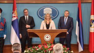 Цвијановић: Српска и Србија предано раде на стратешким пројектима