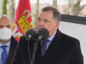 Додик: Хвала Србији за помоћ и подршку