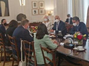 Састанак Додика и Мицотакиса: Српска поносна на добре односе са Грчком