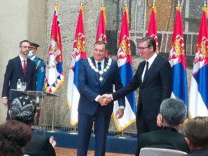 Додику уручен Орден Републике Србије