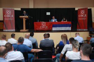 Лопаре: Одржана Изборна конференција ОО СНСД