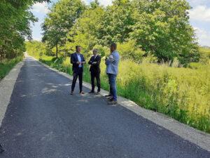 Прњавор: Томаш и Врховац обишли новоизграђени пут у Шибовској
