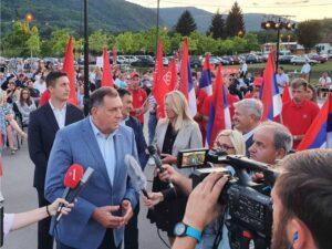 Додик: Осигураћемо најбољи статус и стабилност за Српску