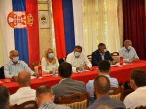 На Козари састанак руководства СНСД-а и локалних одбора
