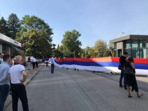 СНСД и Уједињена Српска организовали свечани дефиле