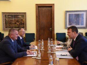 Вишковић и Мировић задовољни односима Српске и Војводине