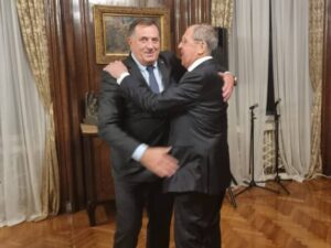 У Београду радна вечера, присуствују Додик и Лавров