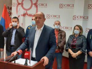 Петровић: ЦИК да забрани рад ПДП-а