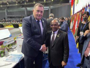Додик се сусрео са предсједником Генералне скупштине УН