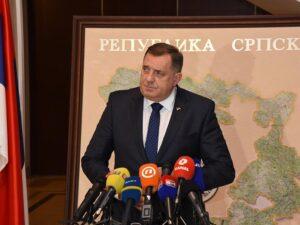 Додик: Наше политичке акције не угрожавају безбједност